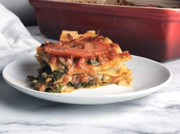 Vegetable & Pesto Lasagna