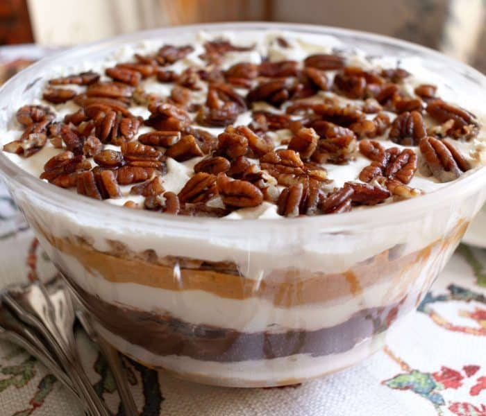 Pumpkin Chocolate Trifle