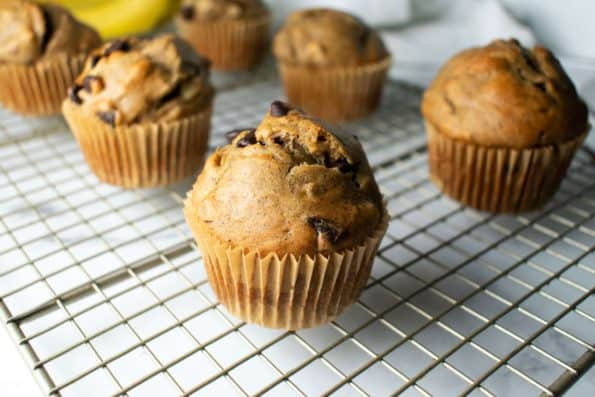 image of muffins on a rack