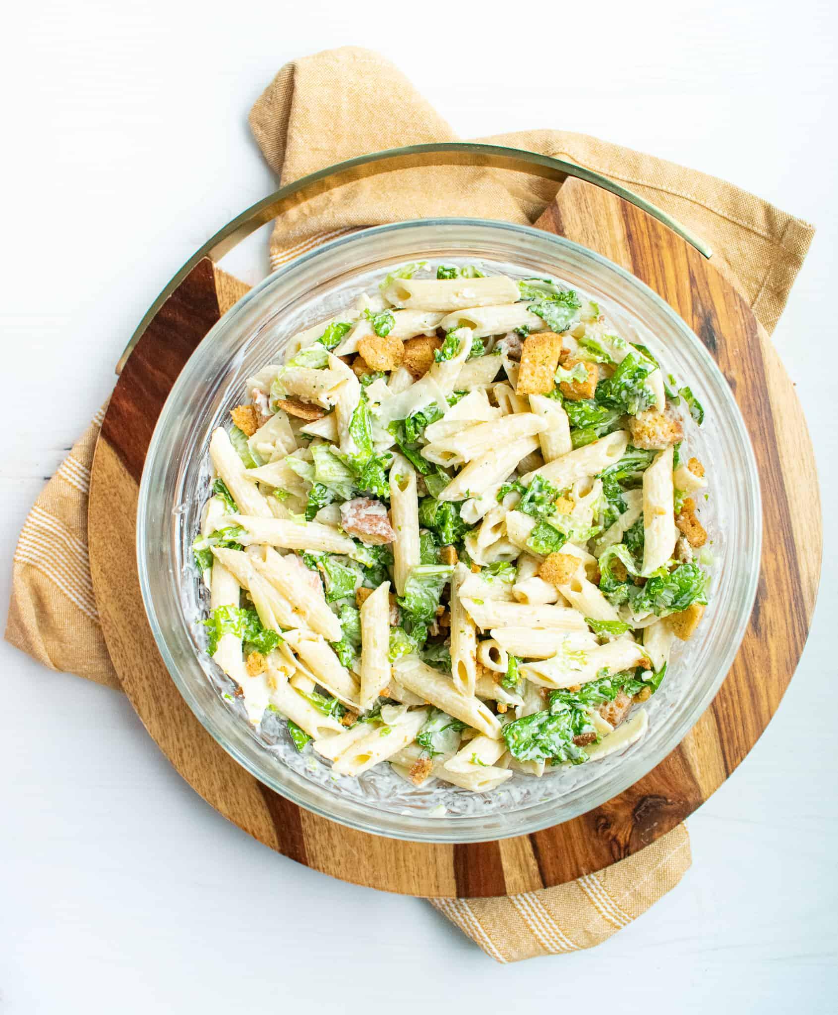 bowl of pasta on white background